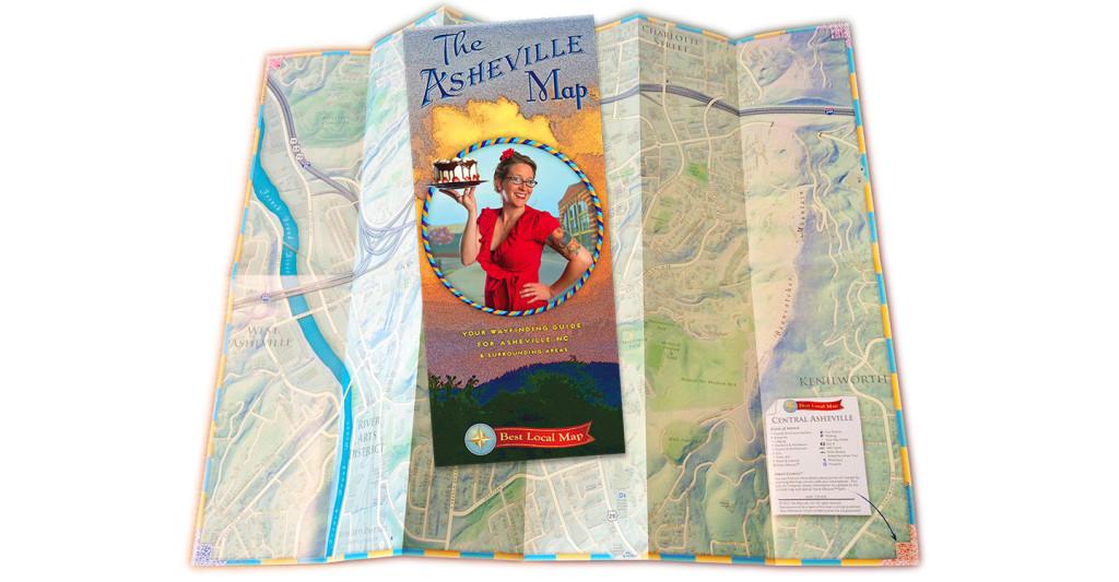 Asheville Map Chosen for Atlas of Design
